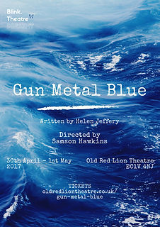 Gun Metal Blue Poster - Blink Theare