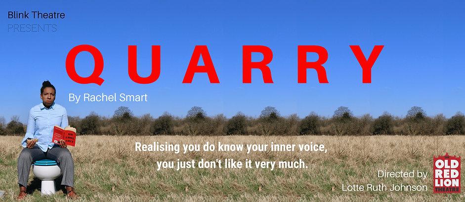 QUARRY Banner - Blink Theatre