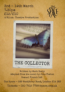 The Collector Poster - Blink Theatre