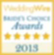 2013 weddingwire award