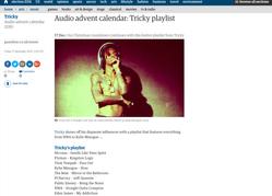 Tricky Endorses Eden James