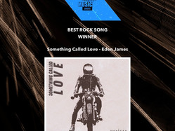Winner of Best Rock Song at the American Tracks Music Awards