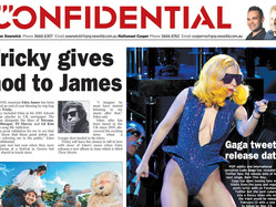 Sharing A Front Page With Lady Gaga