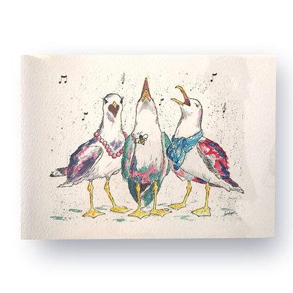 Choir Gulls Card