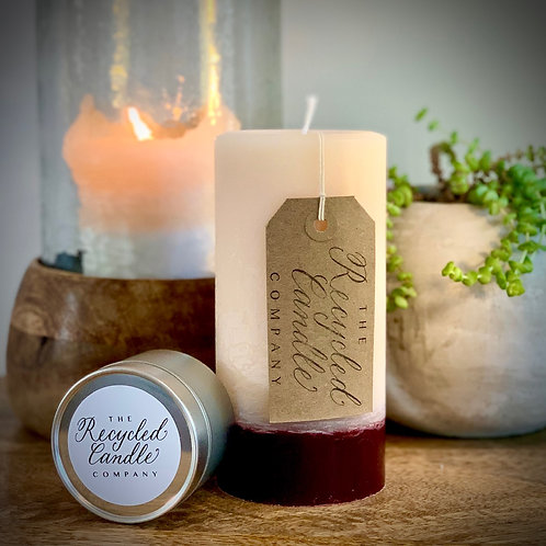 Recycled Candle Co. Pillars