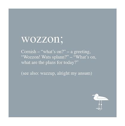 Wozzon - Cornish Translation