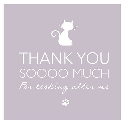 Thank you - Cat Pink