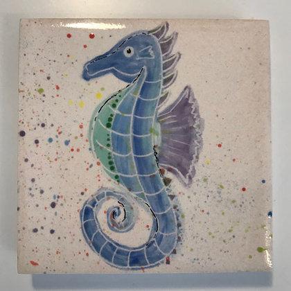 Seahorse - Blue/Green