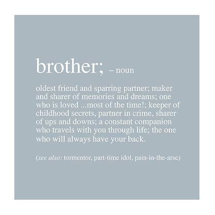 Brother - Definition Range