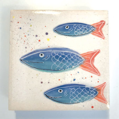 Fish - Blue/Red