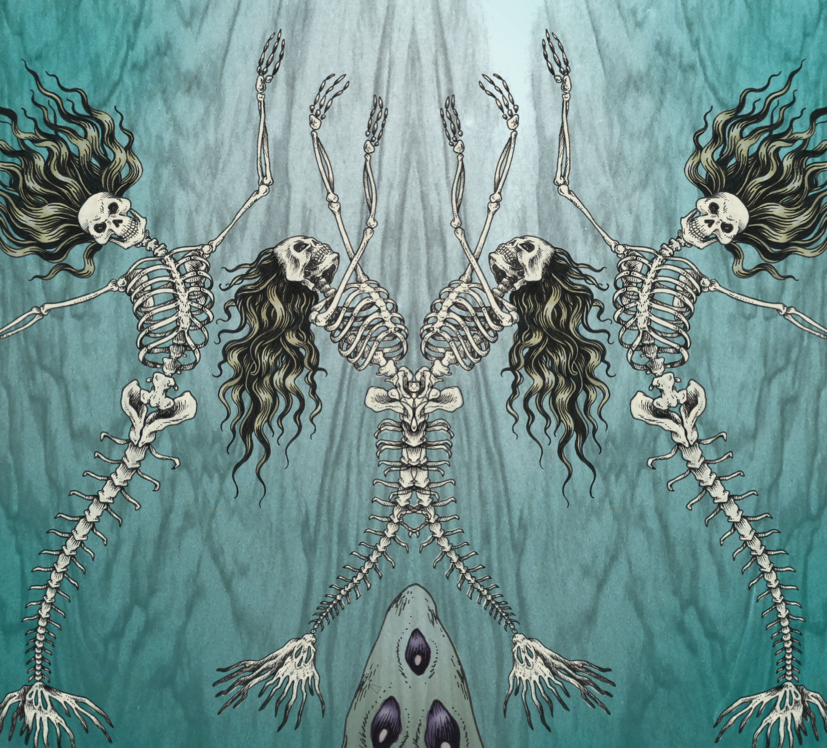 Jegulja skeleton mermaids