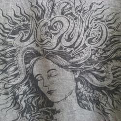 Jegulja t-shirt design