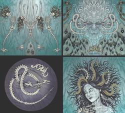 Jegulja cover design