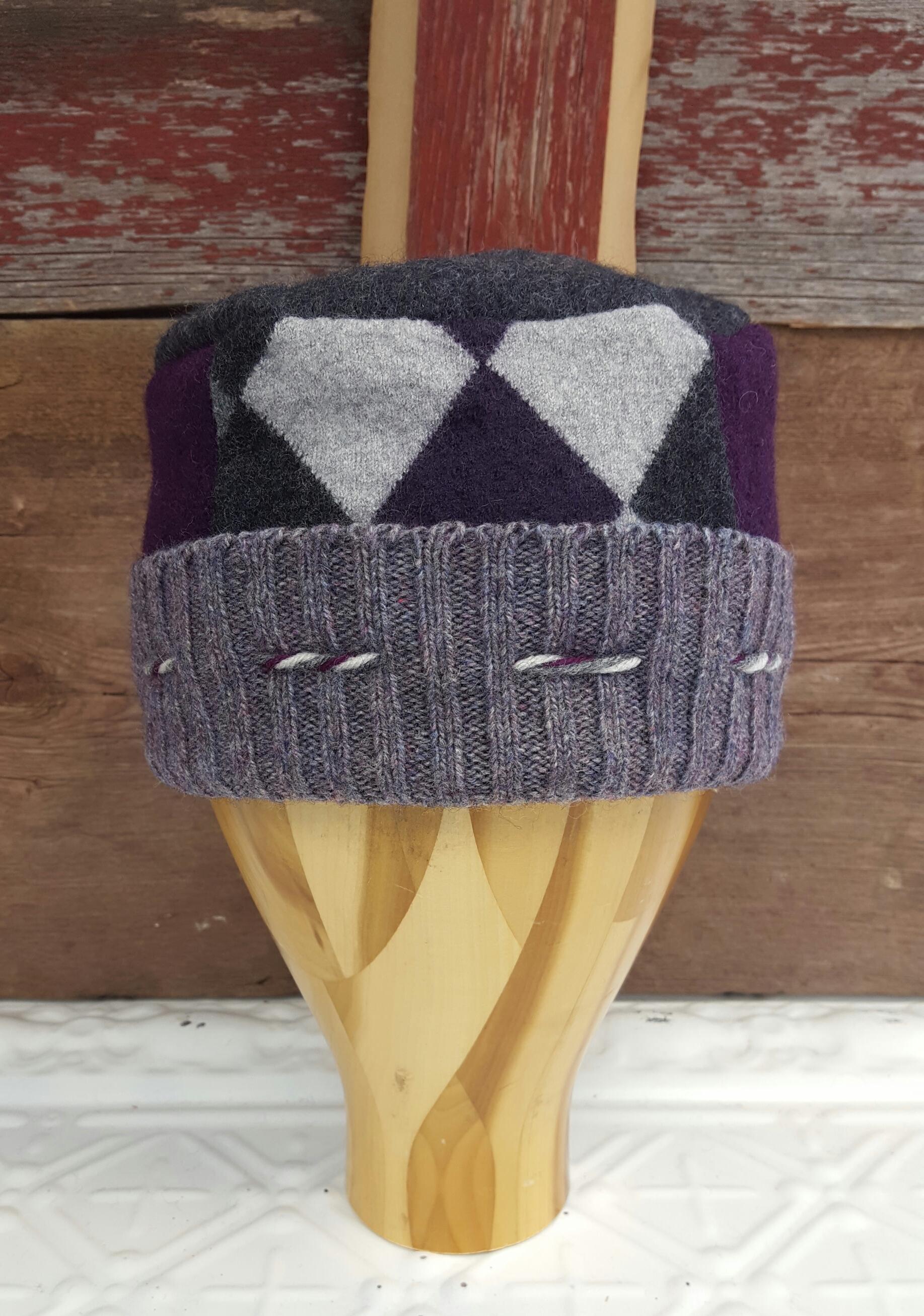Pillbox Hat/Cool Colors