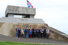 Boots to Journeys, LLC A veteran owned agency, leads group to Normandy raising funds for the Nationa
