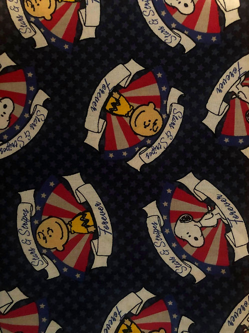 Charlie & Snoopy American Fabric