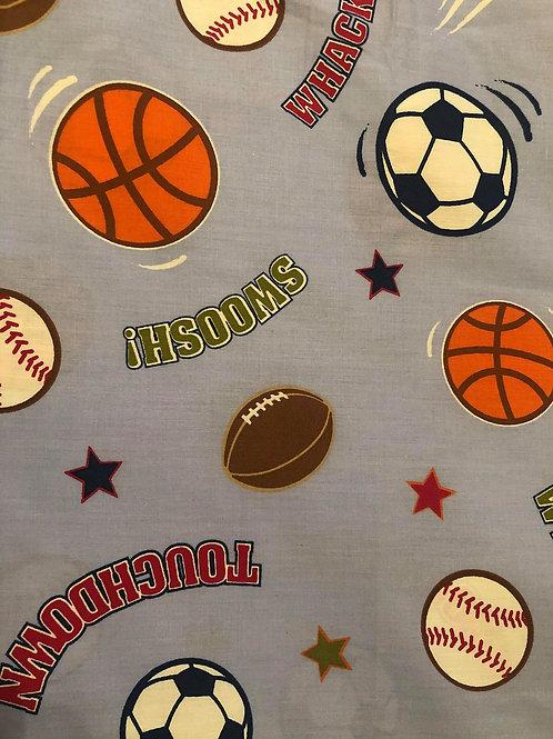 Sports Fabric Grey Fabric