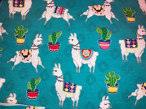 New - Lamas Jersey Knit