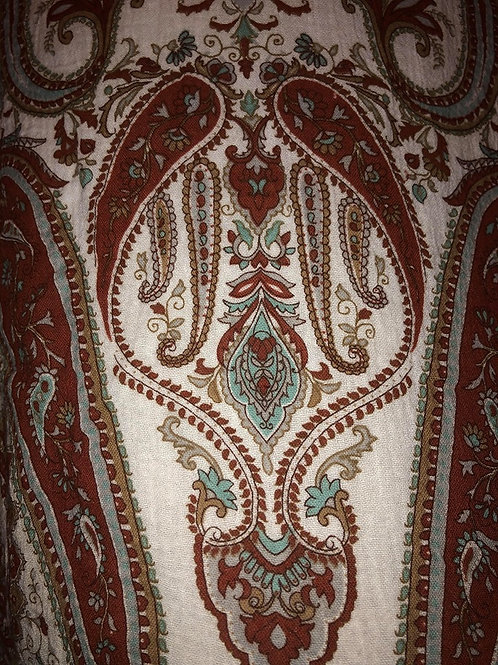 Brown Paisley