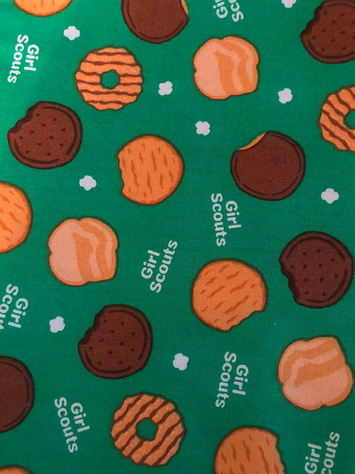 Girl Scout Cookies Fabric