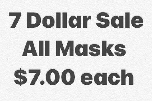 7 Dollar Sale $7.00