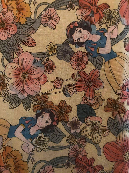 Snow White Disney Princess Fabric