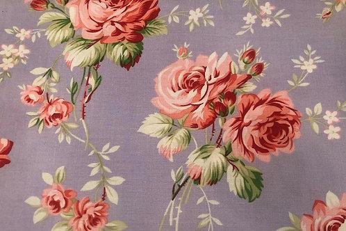 Purple & Pink Flower Fabric