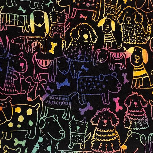 Neon DOG Fabric