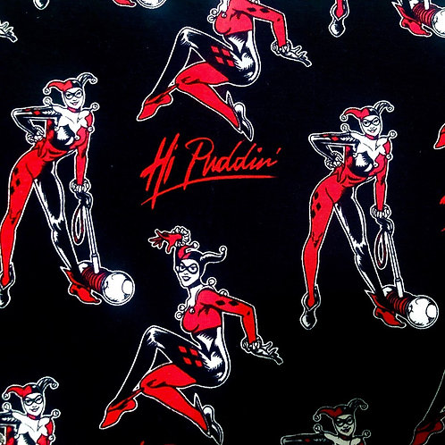 Harley Quinn Hi Puddin Fabric Jersey Knit