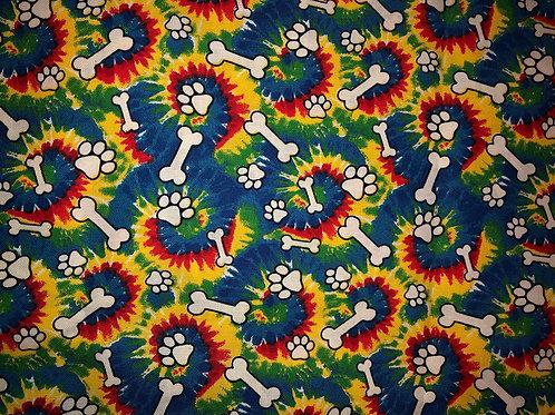 Rainbow Dog Paws & Bones