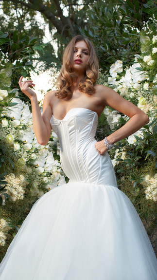 Elegant Couture 2015 Collection Designer Wedding Gown by Leah Da Gloria 4