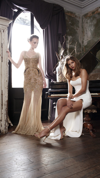 Elegant Couture 2015 Collection Designer Wedding Gown by Leah Da Gloria 21