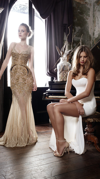 Elegant Couture 2015 Collection Designer Wedding Gown by Leah Da Gloria 20