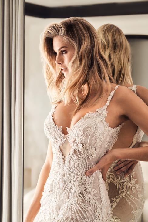Bohème Collection IV Designer Wedding Gown by Leah Da Gloria 16