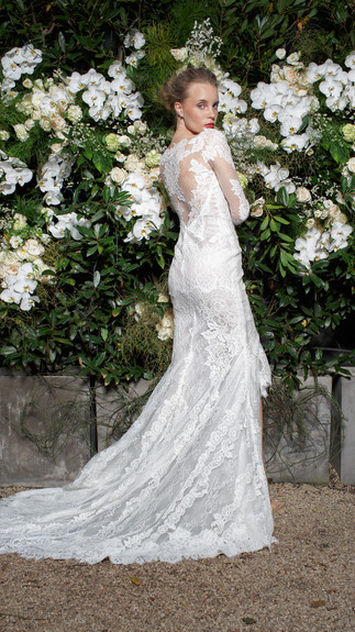 Elegant Couture 2015 Collection Designer Wedding Gown by Leah Da Gloria 12