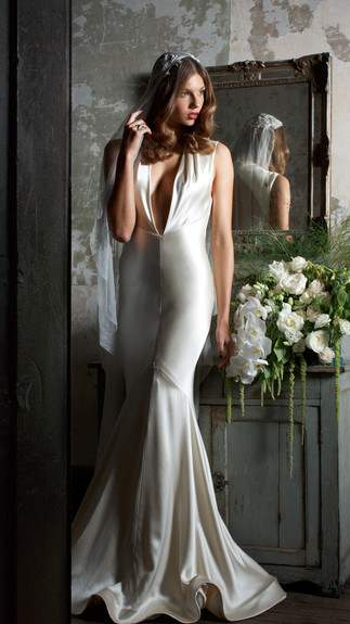 Elegant Couture 2015 Collection Designer Wedding Gown by Leah Da Gloria 6