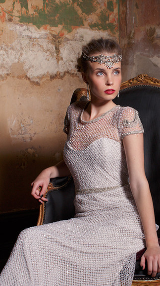 Elegant Couture 2015 Collection Designer Wedding Gown by Leah Da Gloria 10