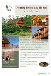 Roaring Brook Log Homes