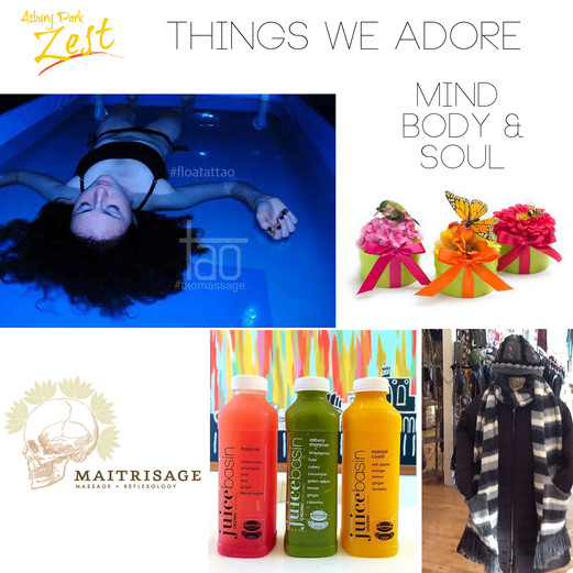 Things We Adore Mind Body & Soul Edition
