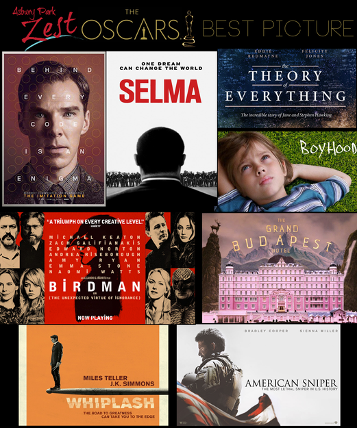 The 87th Annual Academy Awards Best Picture Nominations