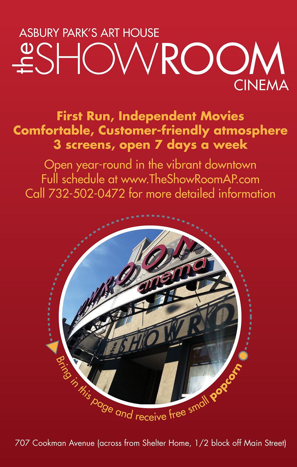 Showroom Cinema Asbury Park