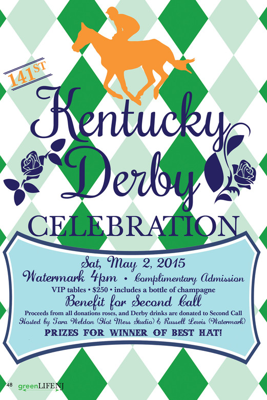 Kentucky Derby Celebration Benefit for Second Call