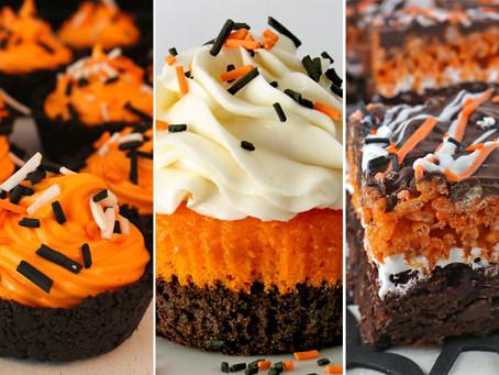 Fall & Halloween Cupcakes Ideas!