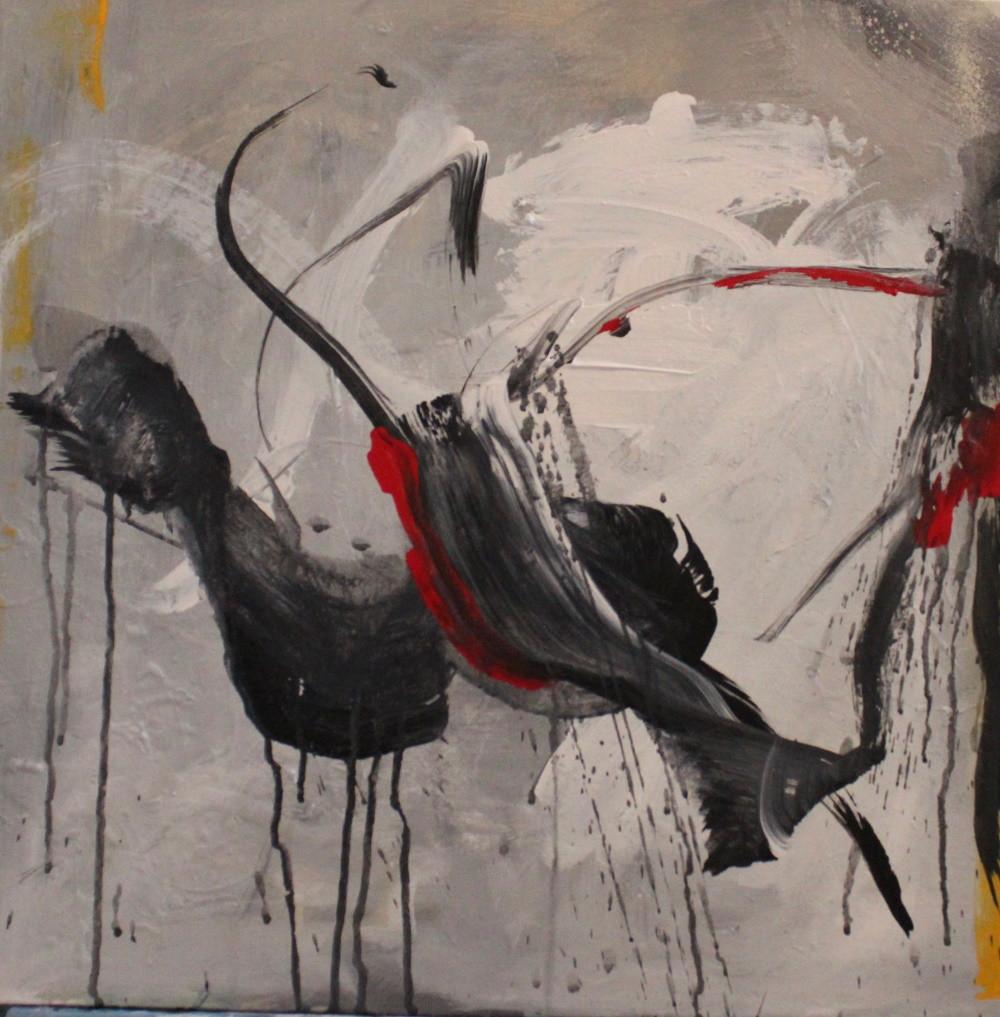 Free Dance Acrilic on canvas  20 x 20.jp