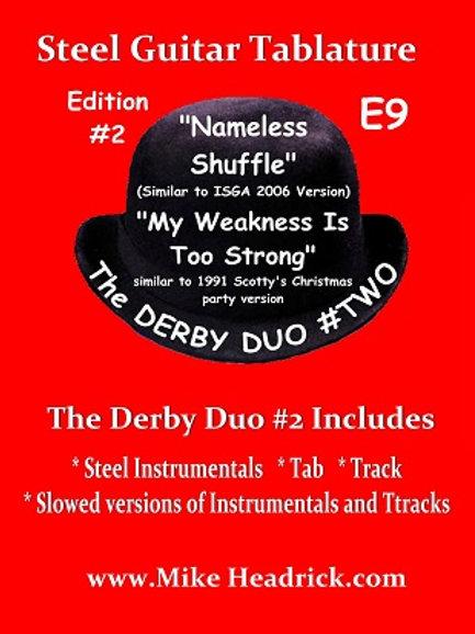 Derby Duo # 2 (CD + Tab Book) - Hard Copy