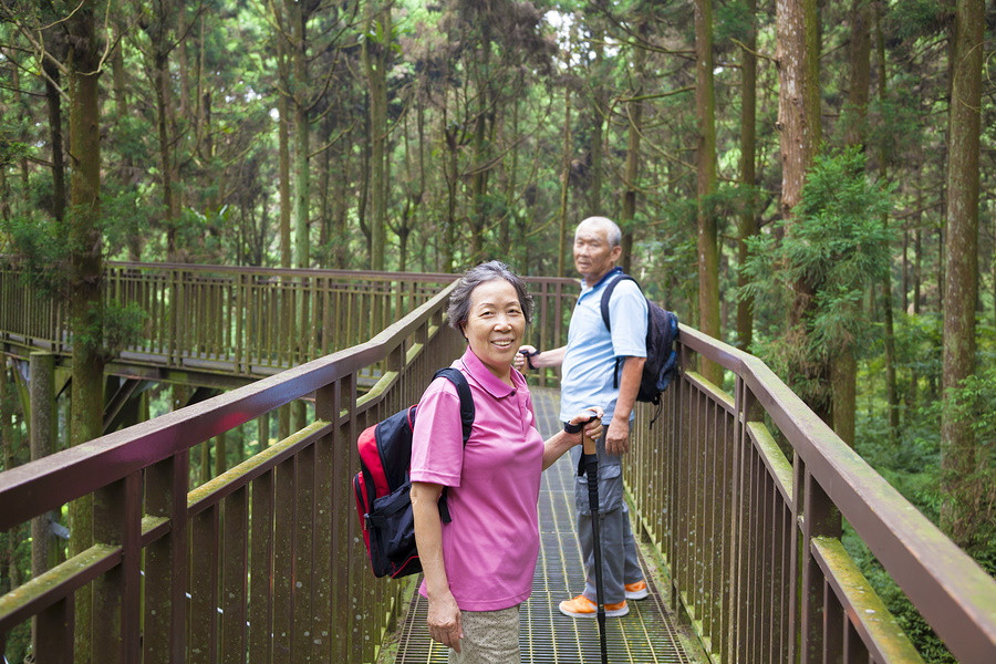 Exercise in Nature to Build a Better Brain