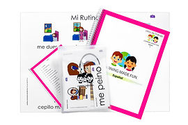 Learning Made Fun, Spanish English Tool Kits, Parents Spanish English Materials, Teachers Spanish English Materials, Spanish Curriculum for Kids, Bilingual Materials Montessori, Dual Learning Materials, Foreign Language Curriculum, Spanish English Teaching Materials, Blanca Lawton
