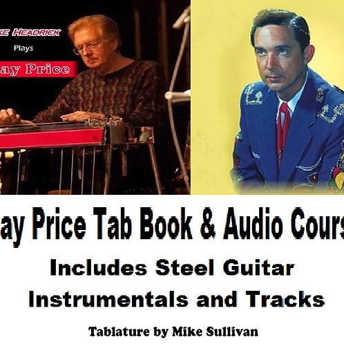 Ray Price 10 Song Tab Book & Audio Course - Digital