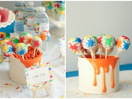 Cake Pop Art Ideas