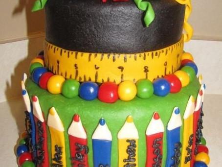 COME BACK SCHOOL - Easy cakes idea!